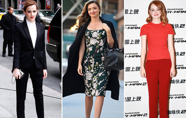 Emma, Miranda & More -- See This Week's Best Dressed Stars!