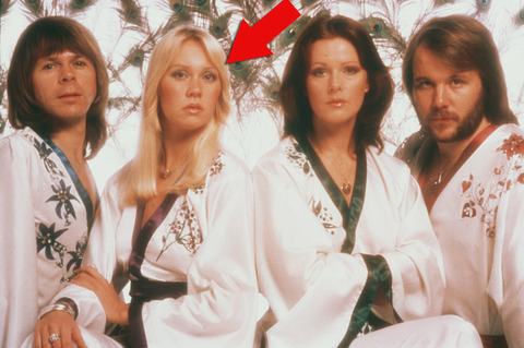 """Agnetha Faltskog was only 20-years-old when she became the hot blonde in the '70s Swedish pop quartette """"ABBA."""""""