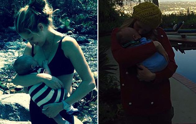 Teresa Palmer Shares Breastfeeding Photo With Son Bodhi Rain