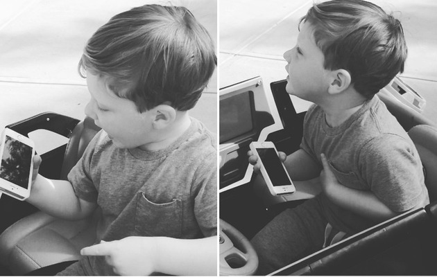 "Video: Kim Zolciak's 2-Year-Old Son Sings ""Wrecking Ball"""