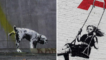 Graffiti Artist Charged With Vandalizing Banksy's Vandal Art