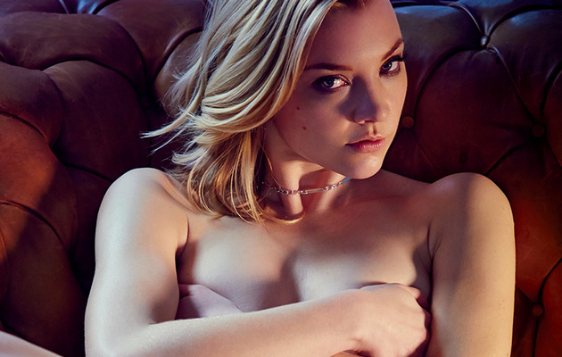 """Game of Thrones"" Star Natalie Dormer Goes Topless In GQ"