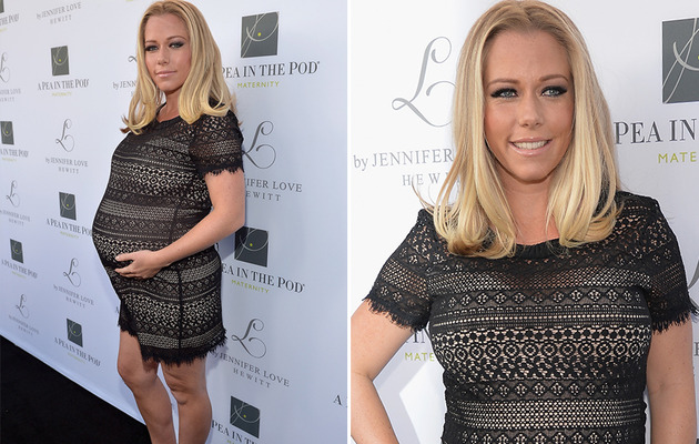 Kendra Wilkinson Shows Off HUGE Baby Bump on Red Carpet