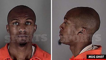 Dante Cunningham MUG SHOT -- Timberwolves Player Arrested for Domestic Violence