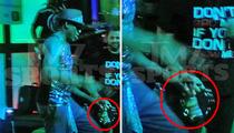 Dennis Rodman -- Pearl Jam Rock Session ... With a Beer Bottle