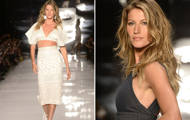 Gisele Bundchen Rocks the Runway as Tom Brady Cheers from Front Row