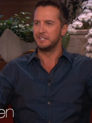 "Luke Bryan Chugs Beer & Takes Shots on ""The Ellen DeGeneres Show"""
