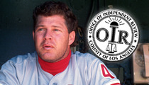 Lenny Dykstra -- Officials Re-Opening Investigation Into Fight With Cops