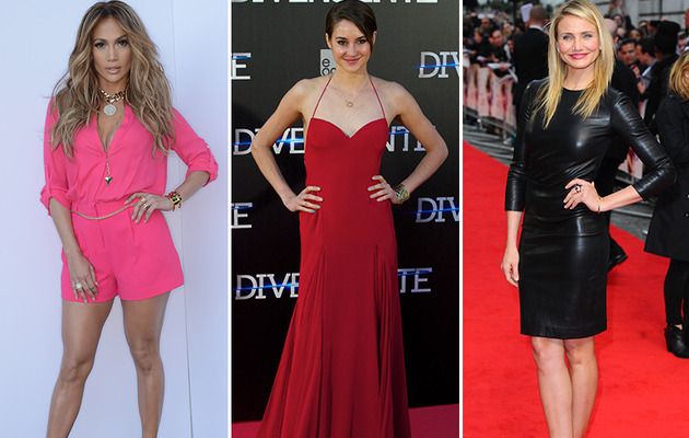 J. Lo, Shailene & More -- See This Week's Best Dressed Stars!