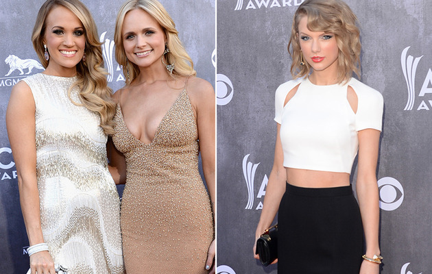 Taylor Swift, Miranda Lambert & More Stun at the ACM Awards!
