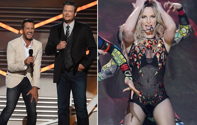 Blake Shelton Blasts Britney Spears During ACM Monologue -- Watch Video!