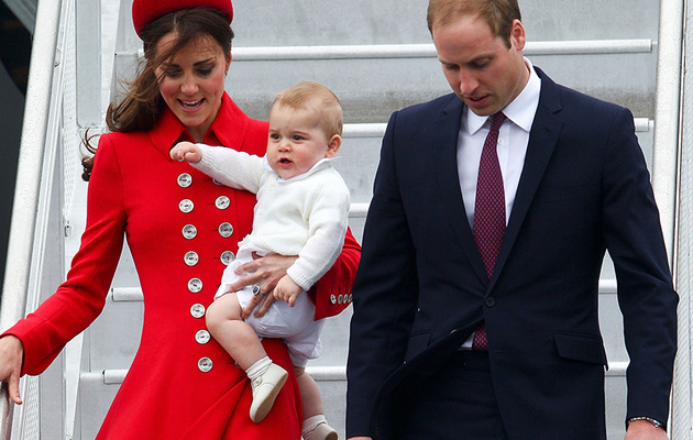 Prince George Sighting In New Zealand -- And He's Sooo Cute!
