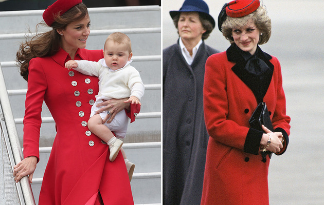 Kate Middleton Channels Princess Diana During New Zealand Tour