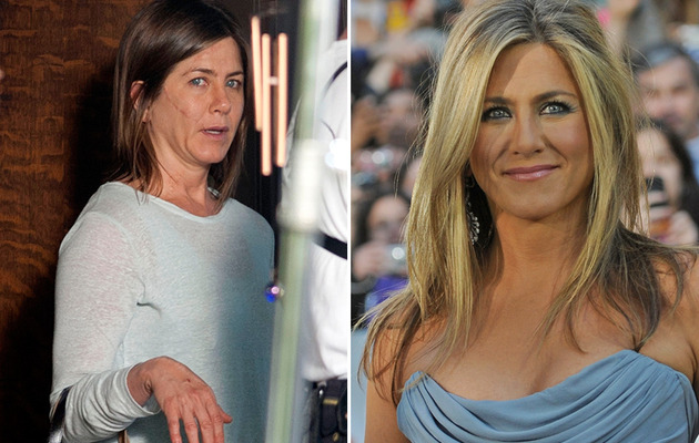 "Jennifer Aniston Sports Serious Facial Scar for Her New Movie ""Cake"""