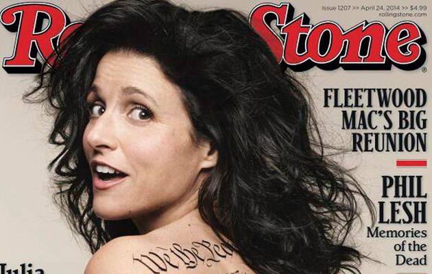 Julia Louis-Dreyfus, 53, Gets Totally Naked for Rolling Stone