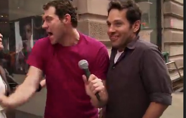 Viral Video: Paul Rudd Asks Random Strangers If They'd Have Sex With Him