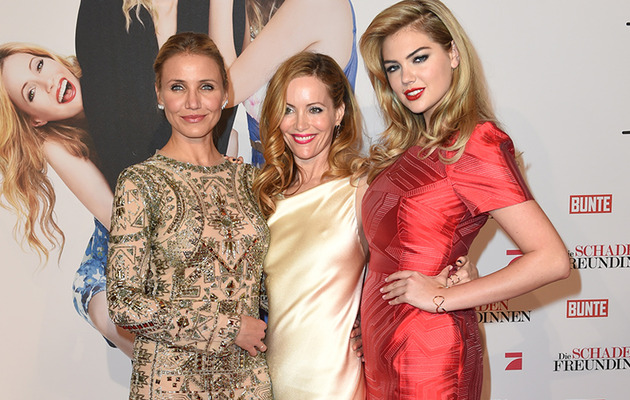 "Cameron, Leslie, and Kate Stun at the German Premiere of ""The Other Woman"""