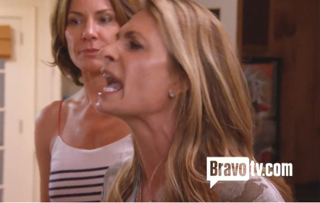 """Real Housewives of New York City's"" Heather Thomson Goes Crazy on Aviva Drescher"