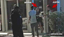 Justin Bieber & Selena Gomez Meet Up At Studio -- She Looks VERY Shaky [VIDEO]
