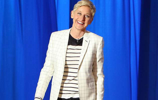 "Ellen DeGeneres Addresses ""Late Show"" Rumors -- Would She Replace David…"