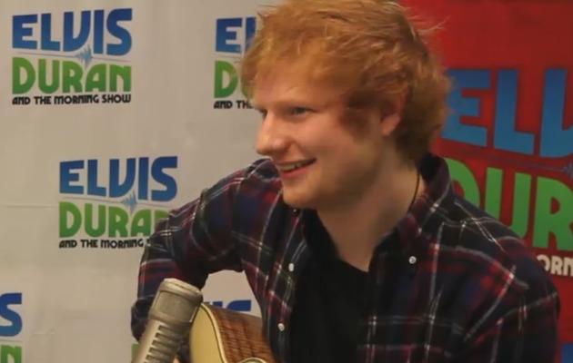 "Video: Watch Ed Sheeran Cover Beyonce's ""Drunk in Love"""