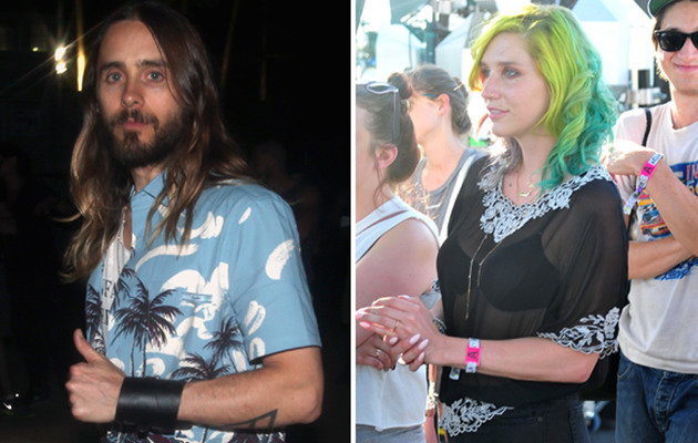 Coachella Celeb Sightings: Jared Leto, Kesha & More!