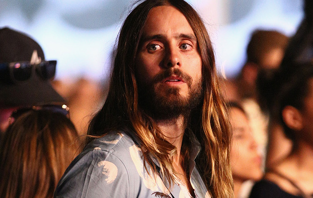 Jared Leto Takes a Helicopter from Coachella to MTV Movie Awards