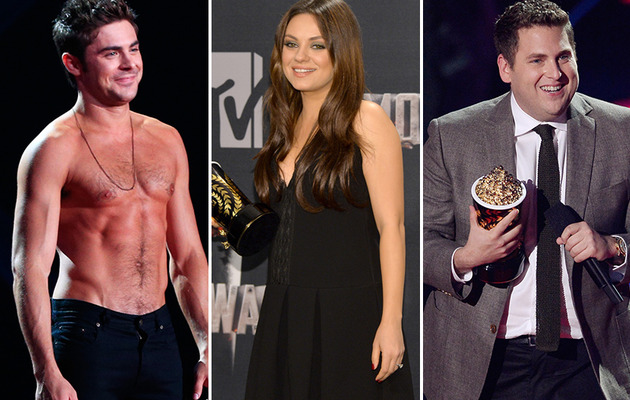 2014 MTV Movie Award Winner's List!