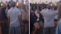 Leonardo DiCaprio -- Dancing Like a Nerd at Coachella ... Or Was He?