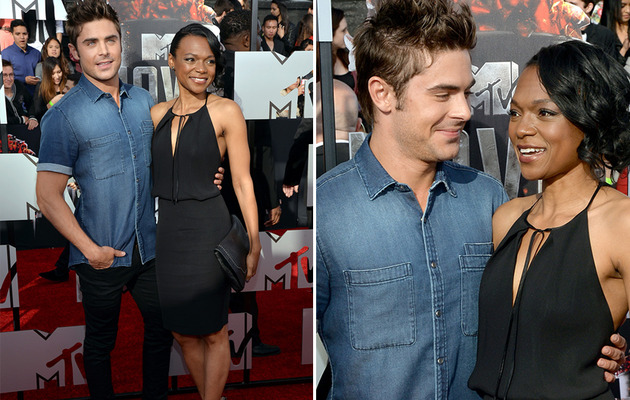 Who Was Zac Efron's Date to the MTV Movie Awards?