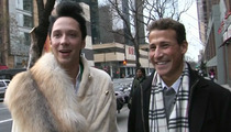 Johnny Weir & Husband Back Together -- Johnny & Victor Call Truce