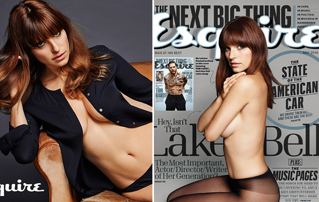 Lake Bell Poses Topless in Esquire -- See the Sexy Pics!