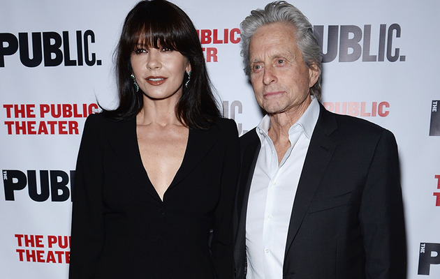 Catherine Zeta-Jones & Michael Douglas Make First Red Carpet Appearance in…
