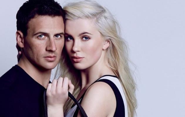Ireland Baldwin & Ryan Lochte Get Sexy & Patriotic for Calvin Klein
