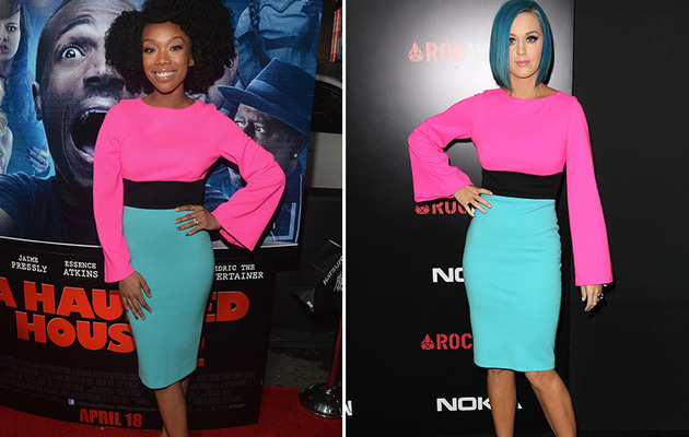 Dueling Dresses: Brandy vs. Katy Perry