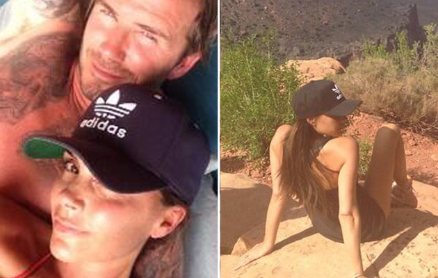 Victoria Beckham Celebrates 40th Birthday with Shirtless David Beckham