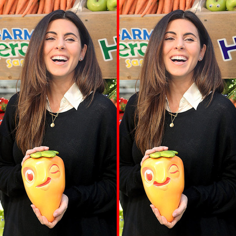 Can you spot the THREE differences in the Jamie Lynn Sigler picture?