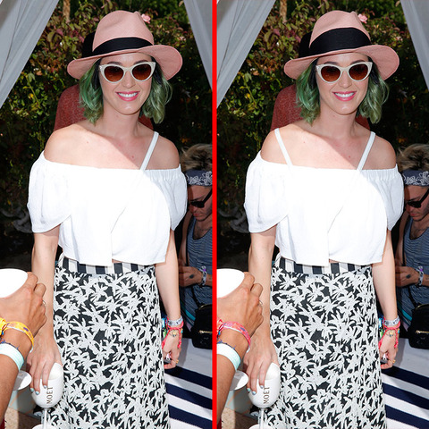 Can you spot the THREE differences in the Katy Perry picture?