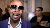 Columbus Short -- Dodges 'Scandal' Question ... REALLY Dodges Domestic Violence Question