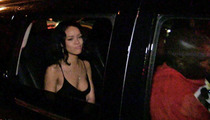 Rihanna -- CLOWNS TMZ Photog ... You Want Fries With That?