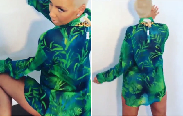 [Video] Amber Rose is the Queen of Twerking!