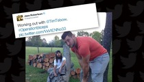 Tim Tebow & Duck Dynasty's Jase Robertson Working Out Together -- QB Gets The Ax