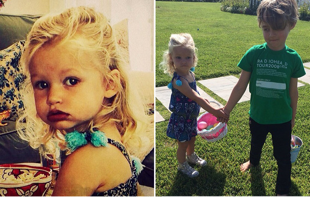 Jessica Simpson Shares Cute Easter Photos with Maxwell