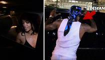 DeSean Jackson -- Hollers At Rihanna ... Outside L.A. Nightclub