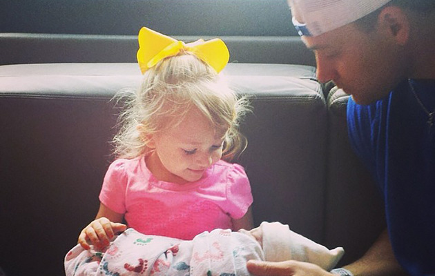Melissa Rycroft Shares Sweet Pic of Ava and Baby Beckett!
