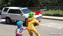 Katy Perry -- Prank Terrorizes Real 5-Year-Old's Birthday Party [VIDEO]