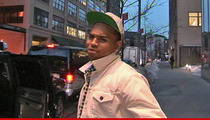 Chris Brown -- Stuck in Jail 'Til June ... At Least