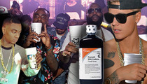 Justin Bieber & Friends -- The Day the Sizzurp Died ... Main Ingredient Gets Yanked