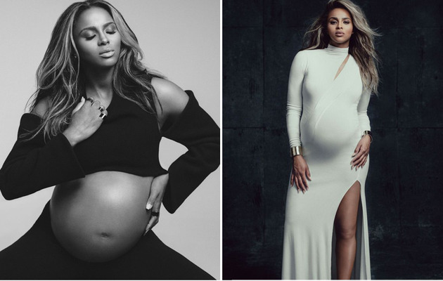 Ciara Shows Off Bare Baby Bump in Sexy W Magazine Shoot!