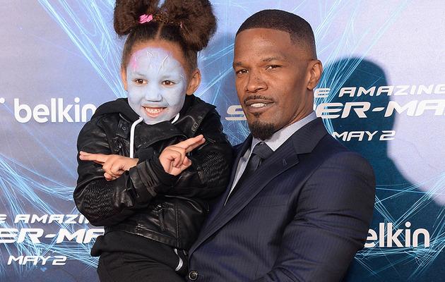"""Jamie Foxx's Daughter Steals the Show at """"Amazing Spider-Man 2"""" Premiere"""